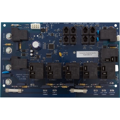 460127, Vita Spa Blue Graphic Board, 0460127, 30460127 Vita Spa Blue Graphic Board, 460127, 0460127, 30460127, replaces 460100, Consumer Engineering Inc 460127, 0460127, PG1, L700C, Blue Board, DISC Prog, 30460127